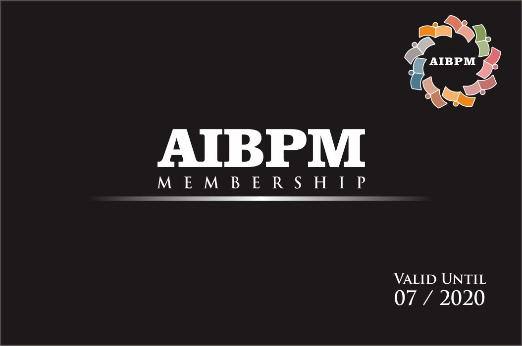 MEMBERSHIP AIPBM EMPTY BLACKREGULER