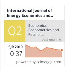International Journal of Energy Economics and Policy